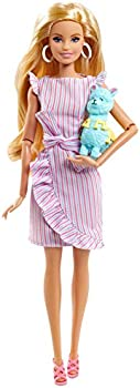 Barbie Signature Tiny Wishes Collector Doll in Wrap Dress