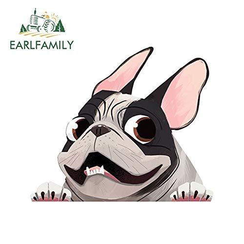 FAFPAY Car sticker 13cm x 11cm fawn french bulldog pet dog sticker vinyl decal cartoon animal waterproof car stickers waterproof car accessoriesStyle D