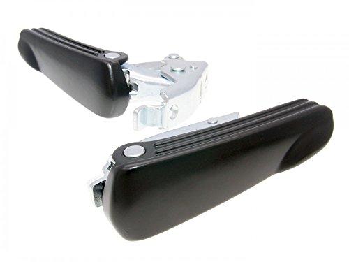 Soporte increíble Juego Negro para Vespa GT, GTS 125–300CCM