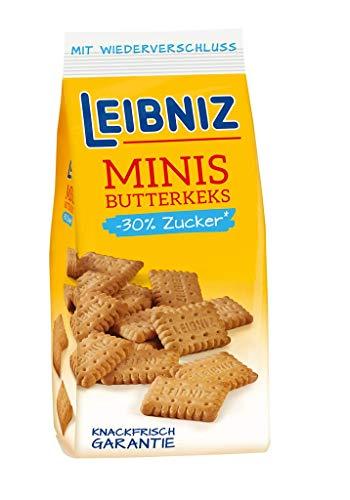 Leibniz Minis 30% weniger Zuck Butterk Butter, 125 g