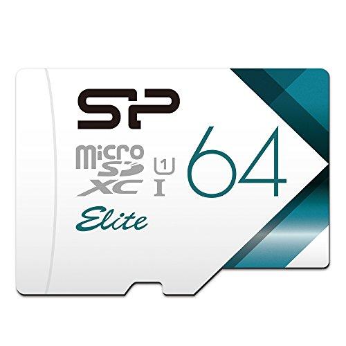 シリコンパワー microSD カード 64GB Nintendo Switch 動作確認済 class10 UHS-1 最大読込85MB/s アダプタ付 永久保証【Amazon.co.jp限定】