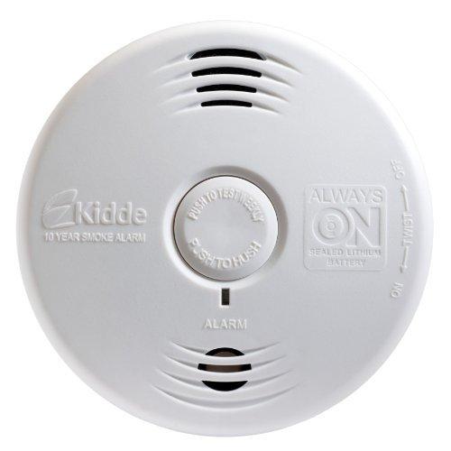 Kidde Smoke Detector, Lithium Battery Powered, Smoke Alarm with Voice Alert