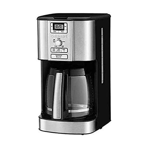 Cuisinart 14 Cup Brew Central 24 Hour Programmable Drip Coffee Maker with Glass Carafe (Renewed)