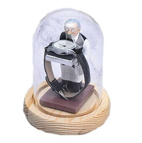 JKXWX Ancien support de montre de femme de ménage présentoir de bijoux boîtes de rangement de montre, vitrine de montre, support d'affichage d'organisateur de montre-bracelet pour la maison