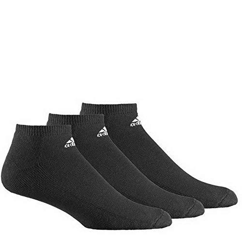 adidas, AdiLiner, Half Cushioned sokken, pak van 3, zwart/wit