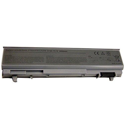 5200mah Notebook Laptop Batterie Akku für Dell Latitude E6400 E6410 E6500 E6510 ATG Precision M2400 M4400 M4500 MP490 PT434 PT435 PT436 PT437 KY265 KY266 Battery