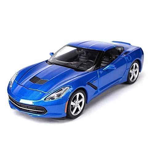 Sports Car Modelo 2019 metal modelo de simulación de aleación coche de los ornamentos, los mejores regalos for niños, adornos de Navidad, Hobby Colección del coche del vehículo for adultos metal niño