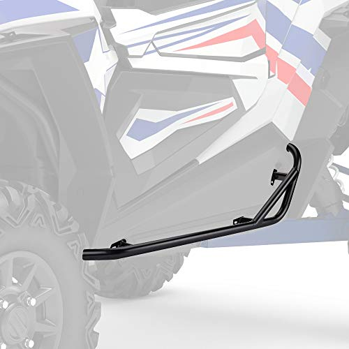 kemimoto RZR Nerf Bars Rock Sliders, Heavy Duty Black Tree Kickers Side Steps Nerf Bars Replacement for 2014-2021 Polaris RZR S 1000 XP 1000 Turbo 900 Trail S 900-2 Seater