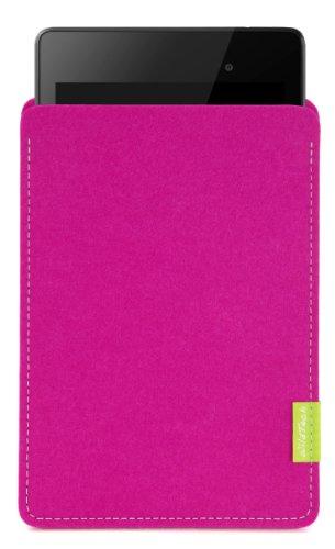 WildTech Sleeve für Asus Google Nexus 7 2013 (2. Generation) - 14 Farben wählbar (Pink)