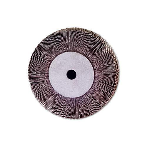 TronicXL Lamellenscheibe für Messerschleifer Schleifmaschine Schleifgerät lamellenschleifscheibe 130x25x15mm KORN 100