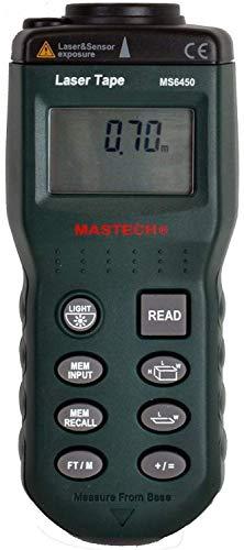 Ultraschall-Abstandsmessgerät MASTECH MS6450 0,6-15 m Ultrasonic Distance Meter