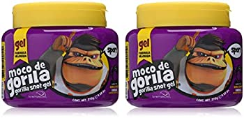 Moco De Gorila Sport Hair Gel | Energizing Hair Styling Gel for Extreme Long Lasting Hold Gorilla Snot Gel is Ultimate Hair Gel to Energize any Hairstyle  9.52 Ounce Jar  2 PACK