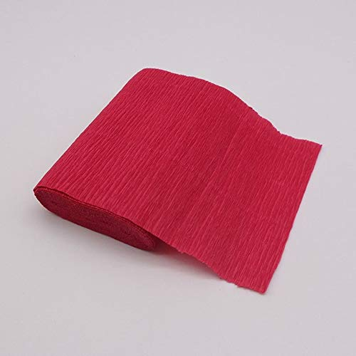 YOTONG 250 x 10 cm de papel de crepé arrugado para manualidades, papel para envolver flores, papel plegable, para álbumes de recortes, regalos de origami, material de embalaje
