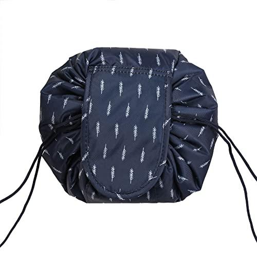 Drawstring Magic Cosmetic Pouch Bag?Lazy Portable Magic Toiletry Kit Organizer,Travel Drawstring Organizer Makeup Large Capacity Waterproof Toiletry Bag (10#)