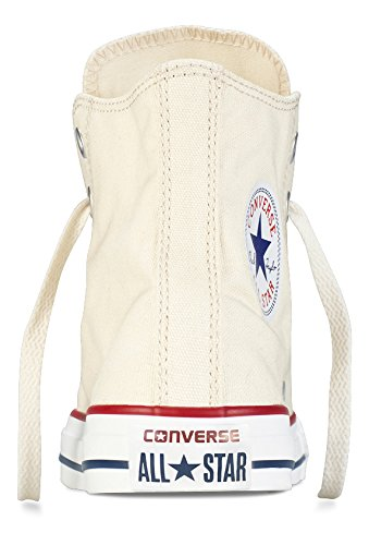 Converse Chuck Taylor All Star Core Hi, Natural White, Men's 3, Women's 5 Medium
