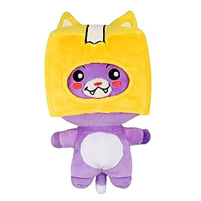 Katyma Foxy and Boxy Plush, Game Detachable Lankybox Boxy Foxy Soft Doll, Stuffed Animal Plushie Pillow Toys for Children from Katyma