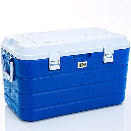 AGQLT Koelbox Outdoor Fresh Box 40L Auto PU Koelbox Medische Drug Koelkast Koude Ketting Transport Box 63,5 * 35 * 34,5 CM