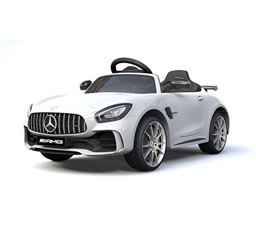 Mediawave Store Auto Bambini elettrica Mercedes AMG GTR LT888 con Telecomando 12V MP3 luci LED