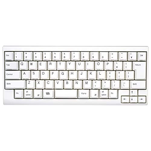 PFU Happy Hacking Keyboard Lite2 for Mac 日本語配列かな印字なし USBキーボード Mac専用モデル ホワイト...