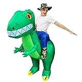 LXLTLB Halloween Erwachsene/Kinder Aufblasbare Dinosaurier-Partei-Kostüm Lustige Kleid Cosplay...