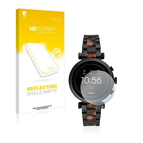 upscreen Entspiegelungs-Schutzfolie kompatibel mit Fossil Sloan HR (4.Gen) – Anti-Reflex Bildschirmschutz-Folie Matt