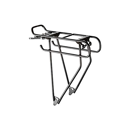 Great Features Of Racktime Addit Universal Rear Mount Rack: Silver
