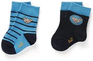 98-116 dunkelblau-rot   gr Steiff  Socken