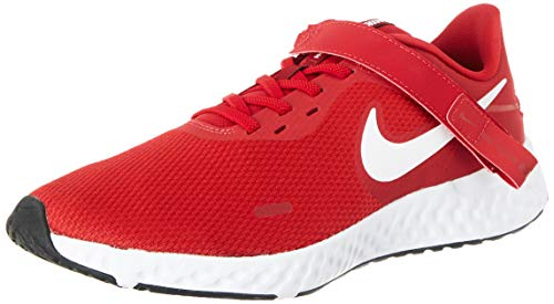 Nike Herren Revolution 5 FlyEase Laufschuh, Rosso Gym Red Nero Bianco, 41 EU