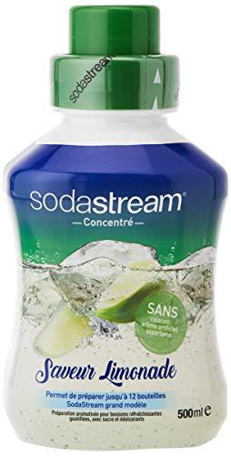Sodastream - 6 x 500 ml Concentrati Sapore Limonade - Senza Aspartamo, Senza conservanti e Aromi Artificiali - 6 x 500...