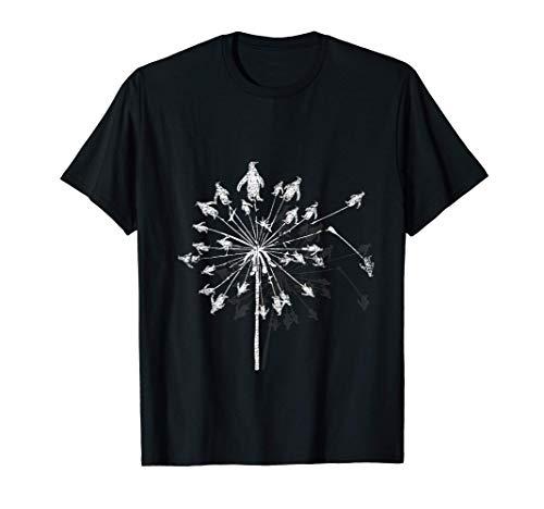 Pusteblumen Pinguin T-Shirt