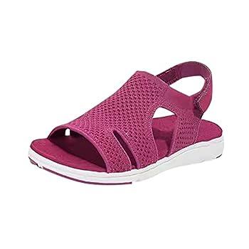 Shoes For Women Sandals Beach Shoes Men Aerosoles Womens Shoes Summer Flat Sandals for Women Womens Slide Sandals  Purple29,7.5