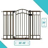 Summer Multi-Use Deco Extra Tall Walk-Thru Gate, Bronze (28.5 - 48 Inch)