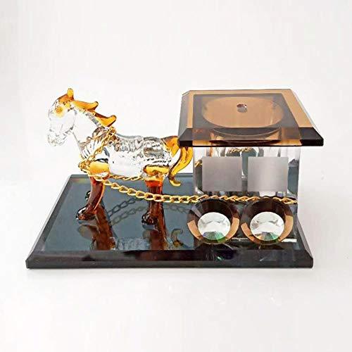 LWLJCFFF Decoración Perfume Carro Cristal Gama Alta