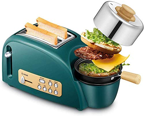 Broodmachine Broodrooster Multi-Function Broodrooster Driver Huis-Roasted Omelette Toast Machine 8bayfa