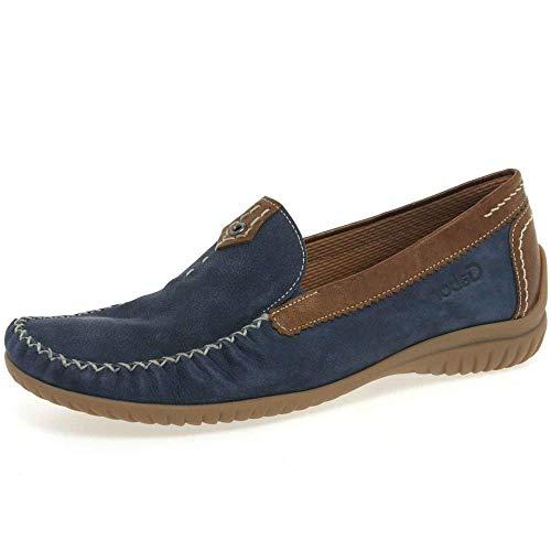 Gabor Shoes Gabor Comfort 26.090.46, Mocassins femme Bleu-TR-C1-39 44