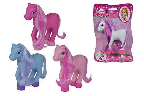 Simba 105943704 - Sweet Pony Basic Set, 4-sortiert