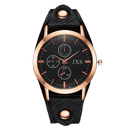 TANGTANGYI Damen lässig Uhren Analogue Mattes Leder kreatives Design Armband Muster Digitalwaage Leopardenmuster Reine Farbe High Sense Hand Accessoires C20