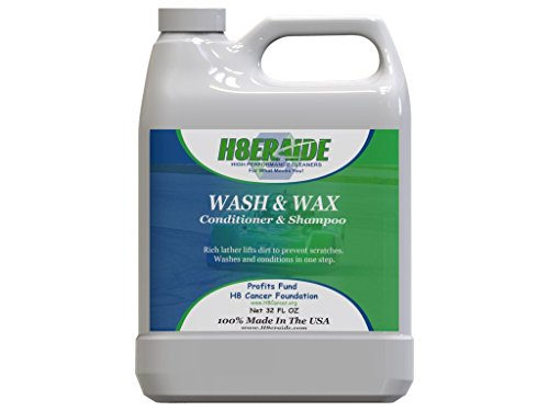 H8eraide Car Wash and Wax 32oz - Patented Technology Provides Deep...