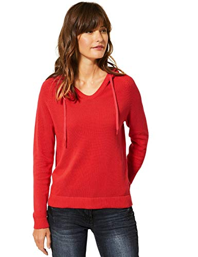 Cecil Damen 301267 Hoodie Kapuzenpullover, Pumpkin orange, X-Large