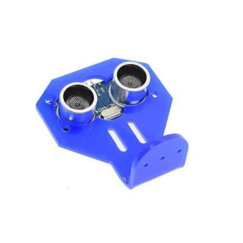LiuliuBull L 1 STÜCKE HC-SR04 zu der Welt Ultrasonic Wave Detektor Rangiermodul Mikrocontrollersensor HC SR04 für Arduino-Abstandssensor (Color : SR04 and Bracket)