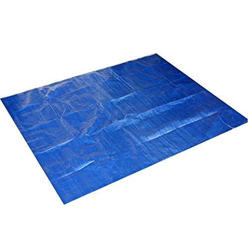 Yowablo Rechteckige Schwimmbadabdeckung für Garten-Außenpaddel-Familienpools (200cmx200cm,Blau)