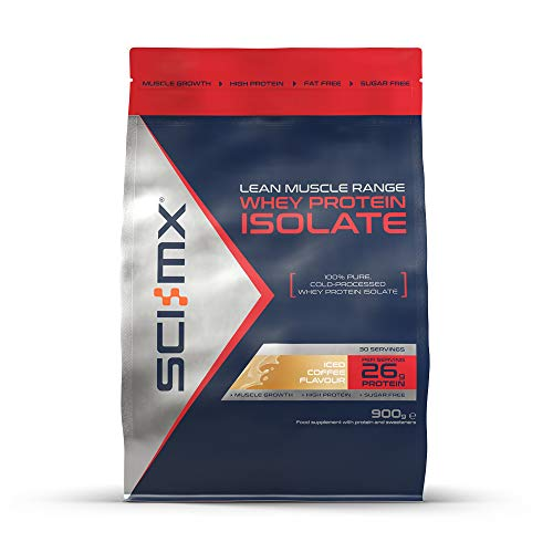 SCI-MX Whey Protein Isolate, Non GMO, 900g, Iced Coffee, 20 Servings