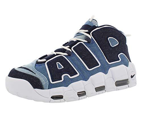 Nike Men's Air More Uptempo '96 Basketball Shoes (13, Denim)