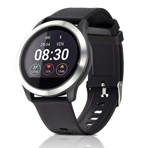 ZOTRAK Z3 Smartwatch Fit Android e iOS,Fashion Smart Watch,IP68,monitoraggio del Battito Cardiaco,Activity Tracker,ECG+PPG,Pressione Sanguigna,Bluetooth Smart Watch 12-15 Giorni Durata Batteria