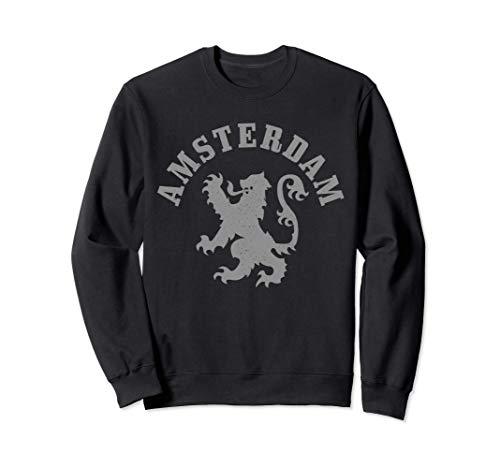 Amsterdam Niederlande Wappen Löwe Holland Vintage Amsterdam Sweatshirt
