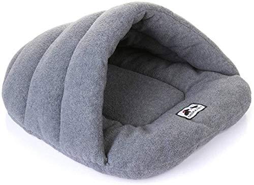 IMBM Pet schön und warm Haustier Schlafsack, weiches gemütliches Bett und Nest for Hunde und Katzen (L, Grau) for Hund Katze