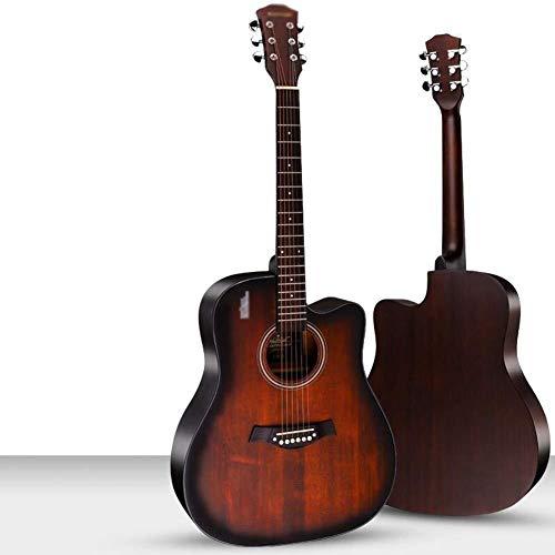 Guitarra eléctrica Guitarra acústica de 41 pulgadas de tamaño completo 6 Cuerda...