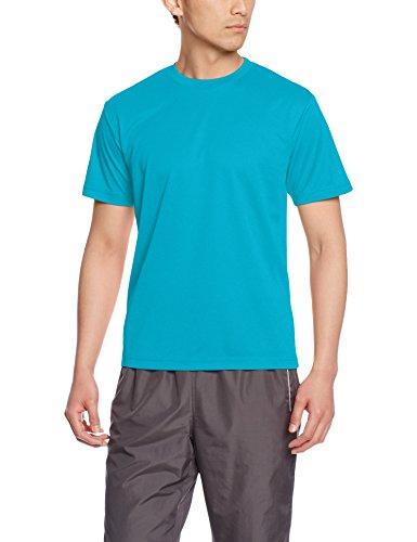 [グリマー] 半袖 4.4oz ドライTシャツ (クルーネック) 00300-ACT ターコイズ L (日本サイズL相当)