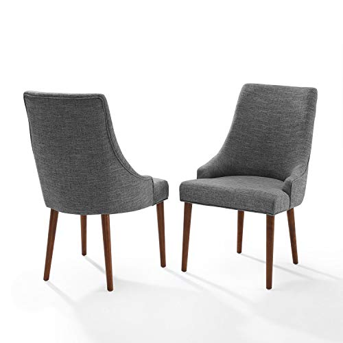 Crosley Landon 2Pc Upholstered Dining Chairs Mahogany - 2 Chairs