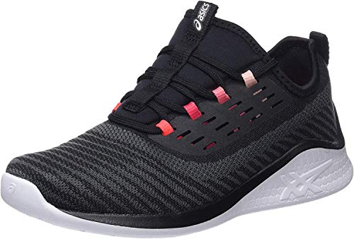 Asics Fuzetora Twist 1022a005-001, Zapatillas de Running, Negro Black Frosted Rose 001, 35.5 EU